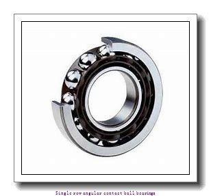 105 mm x 225 mm x 49 mm  skf 7321 BECBP Single row angular contact ball bearings