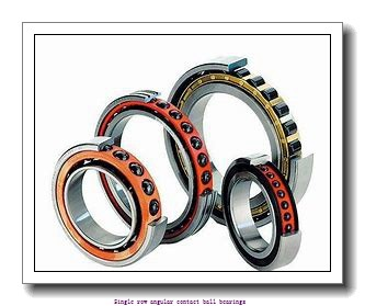 90 mm x 160 mm x 30 mm  skf 7218 BEGAP Single row angular contact ball bearings