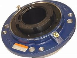 timken QVVC19V307S Solid Block/Spherical Roller Bearing Housed Units-Double V-Lock Piloted Flange Cartridge