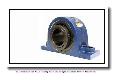 timken QASN10A200S Solid Block/Spherical Roller Bearing Housed Units-Single Concentric Two-Bolt Pillow Block