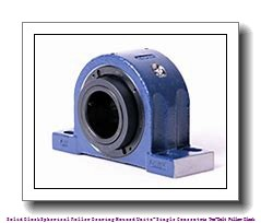 timken QAPL15A070S Solid Block/Spherical Roller Bearing Housed Units-Single Concentric Two-Bolt Pillow Block