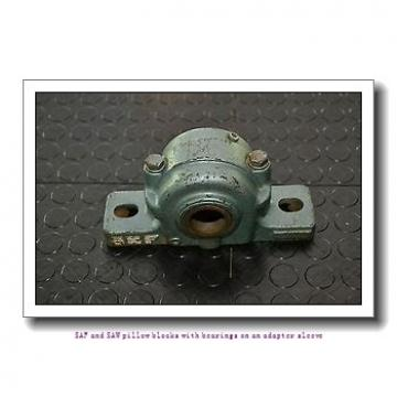 skf SAF 23056 KAT x 9.15/16 SAF and SAW pillow blocks with bearings on an adapter sleeve