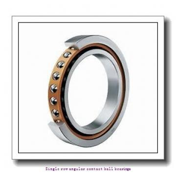 45 mm x 100 mm x 25 mm  skf 7309 BECBY Single row angular contact ball bearings