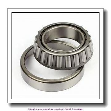 40 mm x 90 mm x 23 mm  skf 7308 BE-2RZP Single row angular contact ball bearings