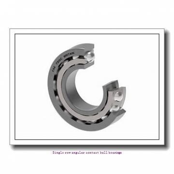 45 mm x 100 mm x 25 mm  skf 7309 BECBJ Single row angular contact ball bearings