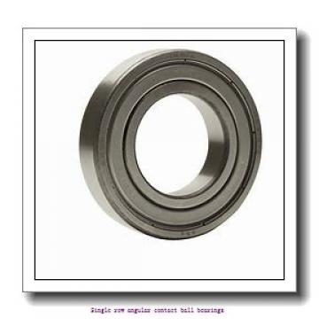 30 mm x 62 mm x 16 mm  skf 7206 BECBY Single row angular contact ball bearings