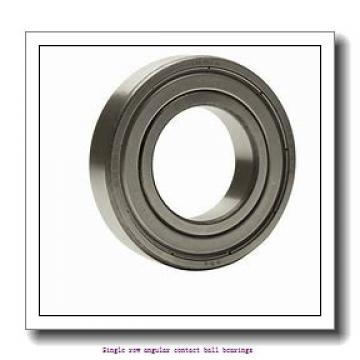95 mm x 200 mm x 45 mm  skf 7319 BEGAY Single row angular contact ball bearings