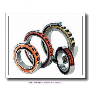 85 mm x 150 mm x 28 mm  skf 7217 BEGAP Single row angular contact ball bearings