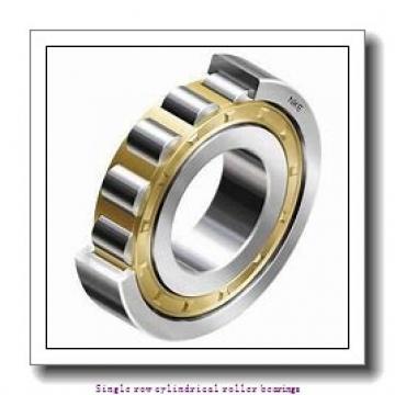 90 mm x 190 mm x 43 mm  NTN NJ318ET2C3 Single row cylindrical roller bearings