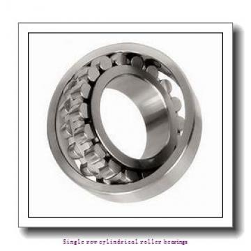 30 mm x 72 mm x 27 mm  NTN NJ2306EC3 Single row cylindrical roller bearings