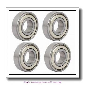 20 mm x 42 mm x 12 mm  NTN 6004ZZCM/L627 Single row deep groove ball bearings