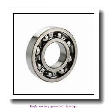 25 mm x 47 mm x 12 mm  NTN 6005LLUAC3/L135 Single row deep groove ball bearings