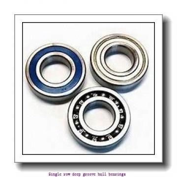 20 mm x 42 mm x 12 mm  NTN 6004LLUNR/5K Single row deep groove ball bearings