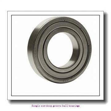 20 mm x 42 mm x 12 mm  NTN 6004ZZNR/2AS Single row deep groove ball bearings