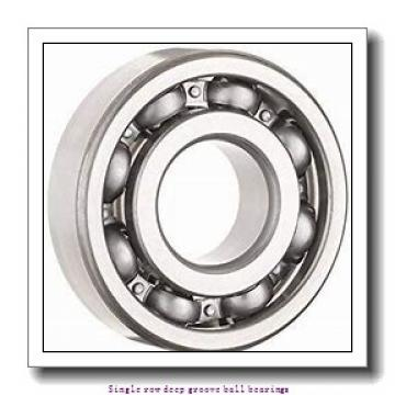 20 mm x 42 mm x 12 mm  SNR 6004.NR Single row deep groove ball bearings