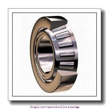 34,925 mm x 76,2 mm x 28,575 mm  NTN 4T-31593/31520 Single row tapered roller bearings