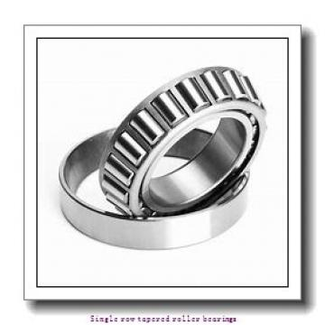 34,925 mm x 73,025 mm x 23,812 mm  NTN 4T-2878/2820 Single row tapered roller bearings