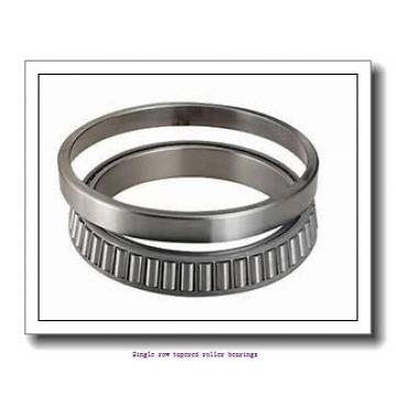 NTN 4T-25520 Single row tapered roller bearings
