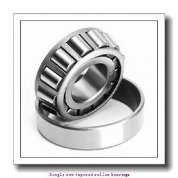 50,8 mm x 92,075 mm x 25,4 mm  NTN 4T-28580/28521 Single row tapered roller bearings