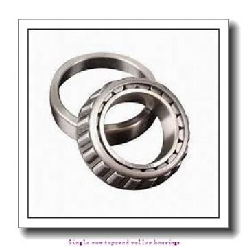 25,4 mm x 63,1 mm x 25,433 mm  NTN 4T-2687/2620 Single row tapered roller bearings