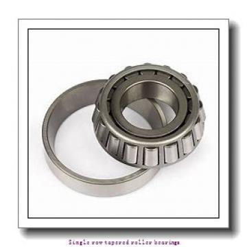 45 mm x 75 mm x 20 mm  NTN 4T-32009X Single row tapered roller bearings