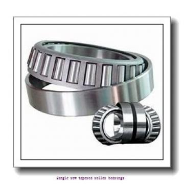 25,4 mm x 66,421 mm x 25,433 mm  NTN 4T-2687/2631 Single row tapered roller bearings