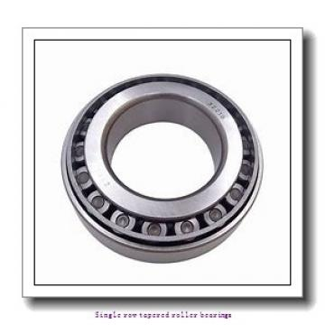38,1 mm x 79,375 mm x 25,4 mm  NTN 4T-26878/26822 Single row tapered roller bearings