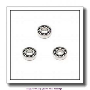 25 mm x 47 mm x 12 mm  NTN 6005ZZNR/5K Single row deep groove ball bearings