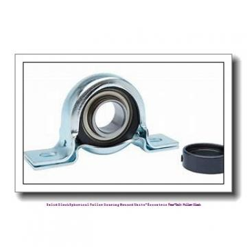 timken QMPR15J211S Solid Block/Spherical Roller Bearing Housed Units-Eccentric Four-Bolt Pillow Block
