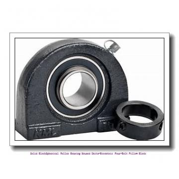 timken QMPF13J207S Solid Block/Spherical Roller Bearing Housed Units-Eccentric Four-Bolt Pillow Block