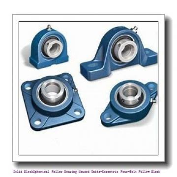 timken QMPF34J615S Solid Block/Spherical Roller Bearing Housed Units-Eccentric Four-Bolt Pillow Block