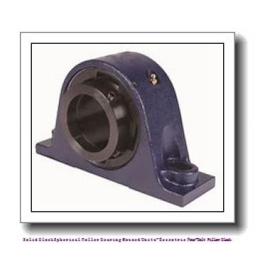 timken QMPX18J307S Solid Block/Spherical Roller Bearing Housed Units-Eccentric Four-Bolt Pillow Block