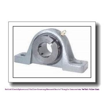 timken QAP13A060S Solid Block/Spherical Roller Bearing Housed Units-Single Concentric Two-Bolt Pillow Block