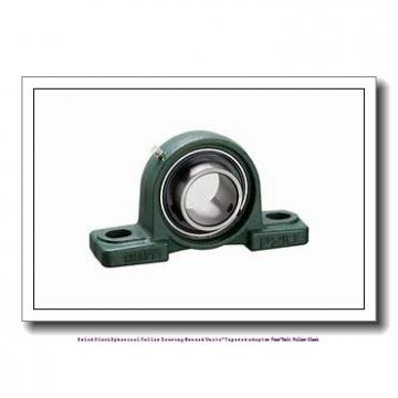 timken TAPH15K207S Solid Block/Spherical Roller Bearing Housed Units-Tapered Adapter Four-Bolt Pillow Block