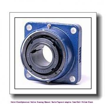 timken TAPG15K207S Solid Block/Spherical Roller Bearing Housed Units-Tapered Adapter Four-Bolt Pillow Block