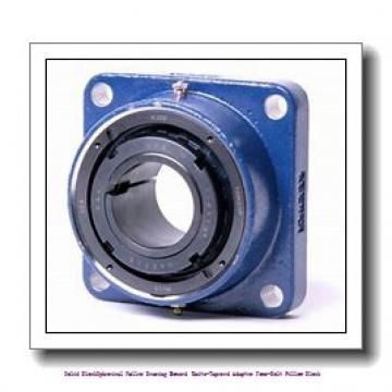 timken DVPF20K308S Solid Block/Spherical Roller Bearing Housed Units-Tapered Adapter Four-Bolt Pillow Block
