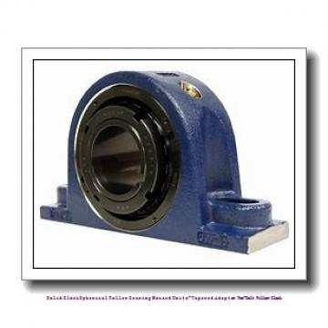 timken TAPA13K204S Solid Block/Spherical Roller Bearing Housed Units-Tapered Adapter Two-Bolt Pillow Block