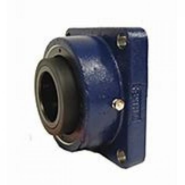 timken QAF15A300S Solid Block/Spherical Roller Bearing Housed Units-Single Concentric Four Bolt Square Flange Block #1 image