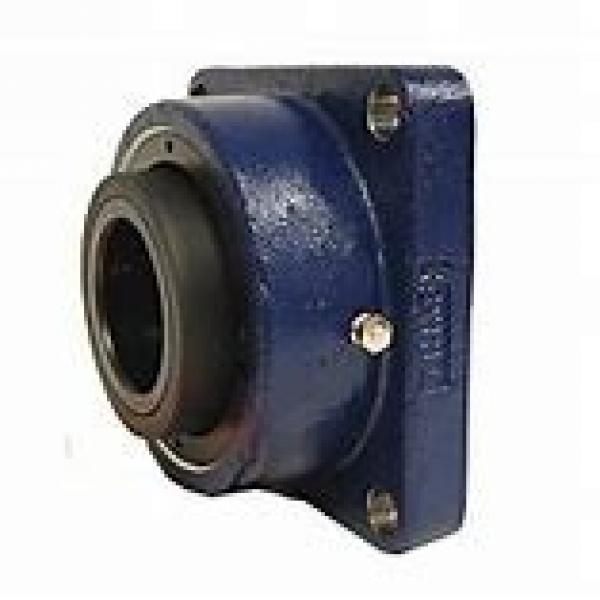 timken QAF15A075S Solid Block/Spherical Roller Bearing Housed Units-Single Concentric Four Bolt Square Flange Block #1 image