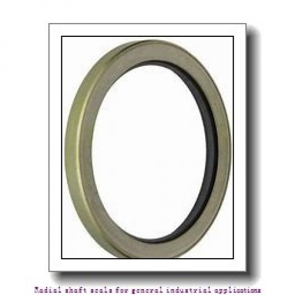 skf 75X105X10 HMSA10 V Radial shaft seals for general industrial applications #1 image