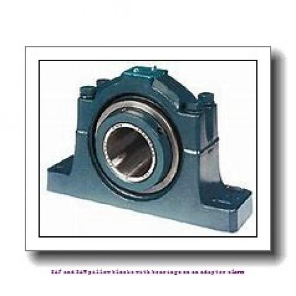 skf SAF 22530 x 5.3/8 SAF and SAW pillow blocks with bearings on an adapter sleeve #2 image