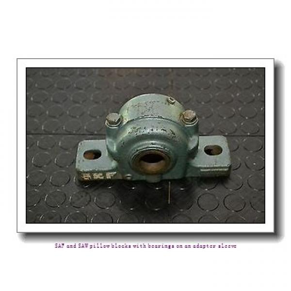 skf SSAFS 23040 KAT x 7.3/16 SAF and SAW pillow blocks with bearings on an adapter sleeve #2 image