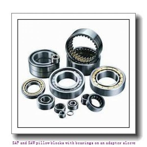 skf FSAF 22615 x 2.1/2 SAF and SAW pillow blocks with bearings on an adapter sleeve #2 image