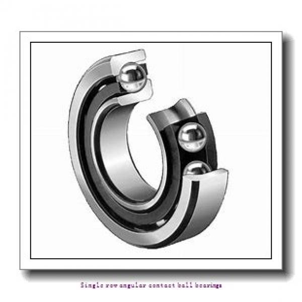 40 mm x 90 mm x 23 mm  skf 7308 BEGAPH Single row angular contact ball bearings #1 image