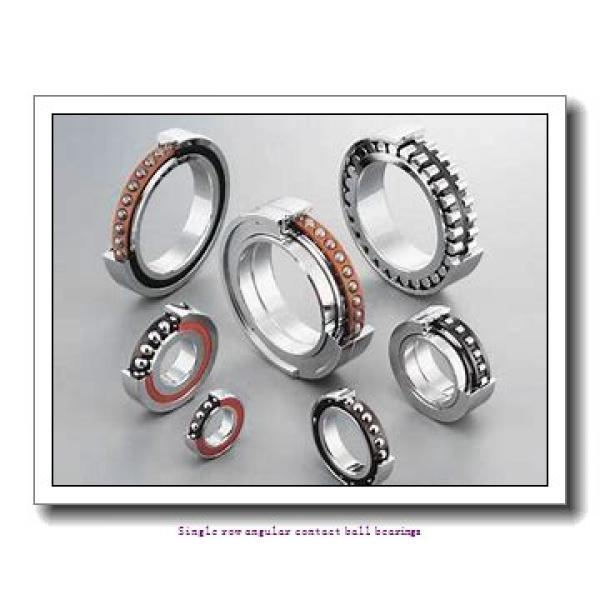130 mm x 230 mm x 40 mm  skf 7226 BGAM Single row angular contact ball bearings #1 image