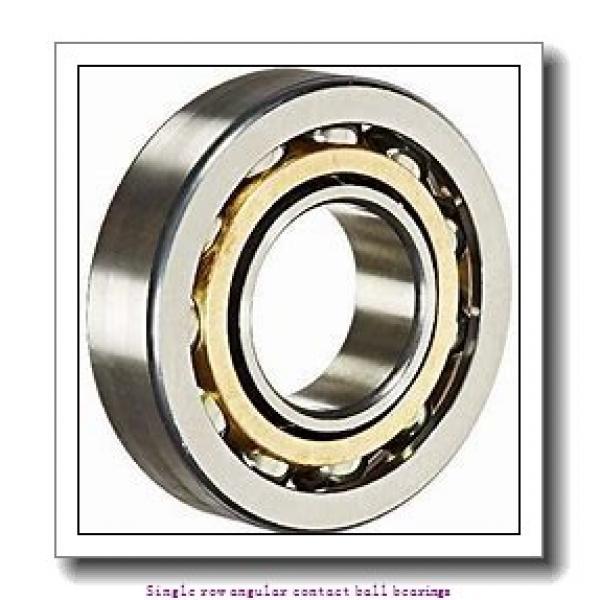 300 mm x 540 mm x 85 mm  skf 7260 BCBM Single row angular contact ball bearings #1 image