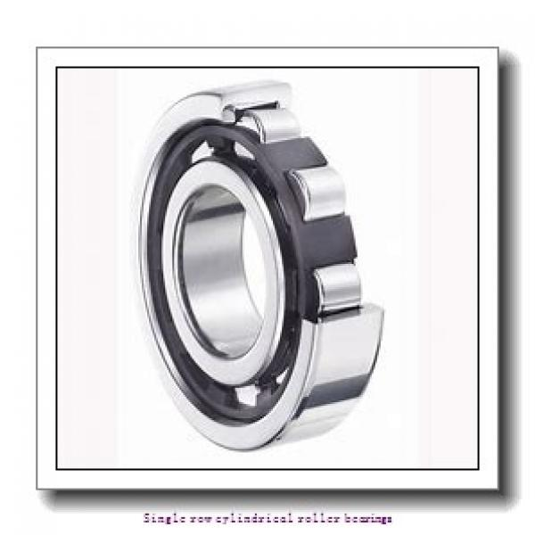 30 mm x 72 mm x 27 mm  SNR NJ.2306.E.G15 Single row cylindrical roller bearings #1 image