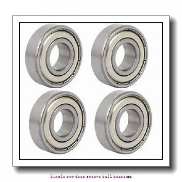 17 mm x 35 mm x 10 mm  NTN 6003U1 Single row deep groove ball bearings #1 image