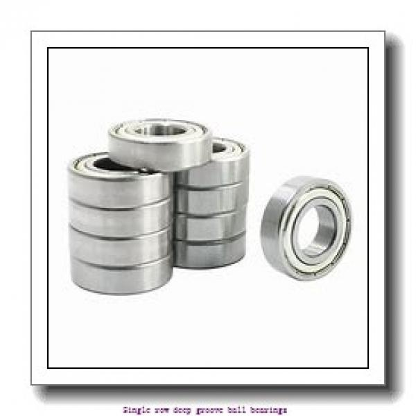 25 mm x 47 mm x 12 mm  NTN 6005LLBNR/2AS Single row deep groove ball bearings #2 image