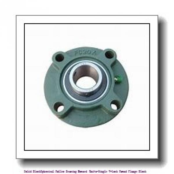 timken QVCW28V125S Solid Block/Spherical Roller Bearing Housed Units-Single V-Lock Piloted Flange Cartridge #1 image
